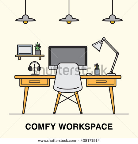 Designer Lamp Stock Vectors & Vector Clip Art.