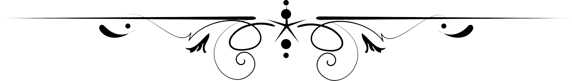 Decorative Line Black PNG Transparent Images.