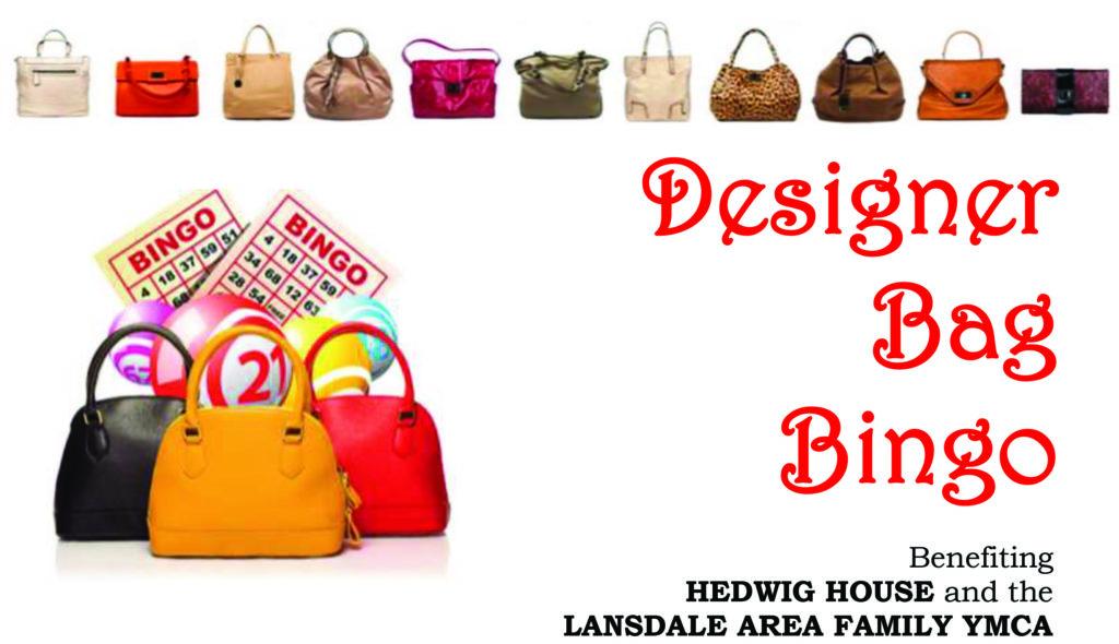 Designer bag bingo clipart.