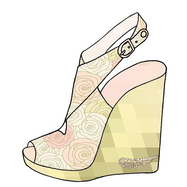1000+ images about Sandals and slippers illustrations on Pinterest.