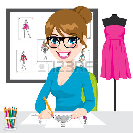 9,502 Fashion Designer Stock Illustrations, Cliparts And Royalty.
