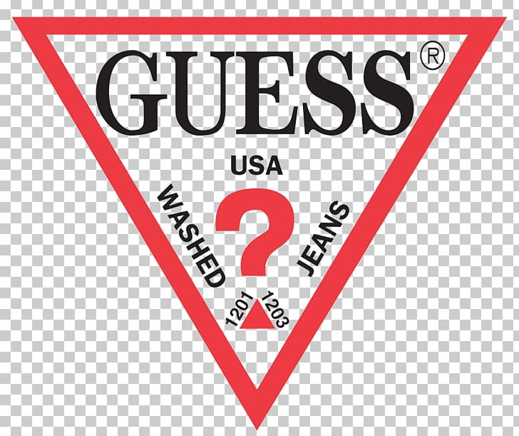 Logo Guess Fashion Clothing Brand PNG, Clipart, Area, Banner.