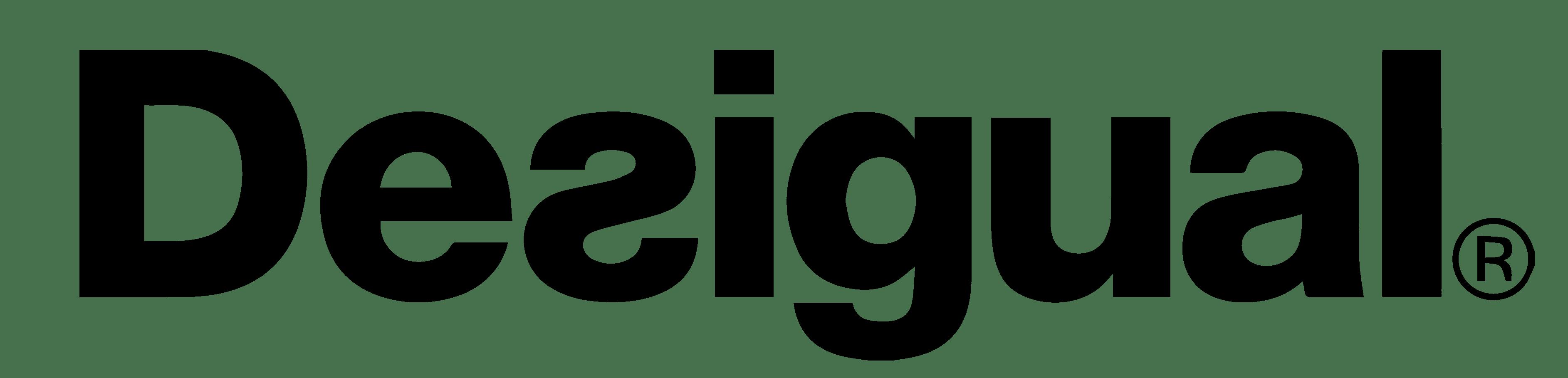 Desigual Logo transparent PNG.
