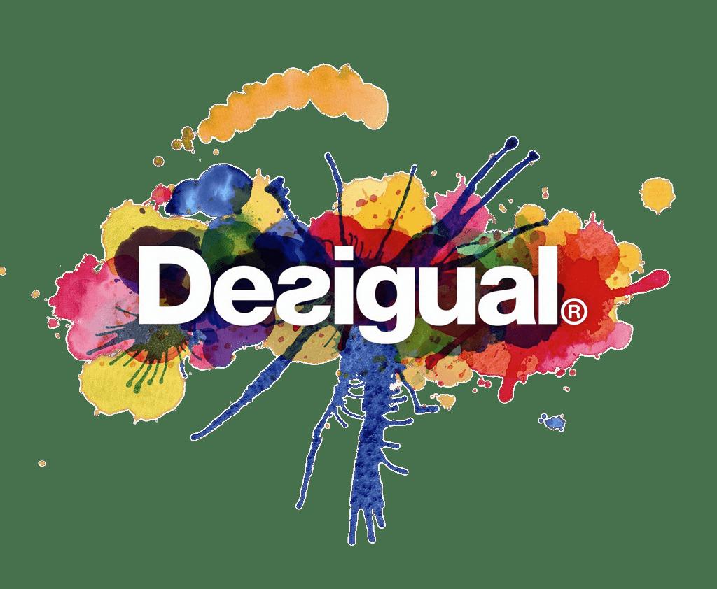 Desigual Color Logo transparent PNG.