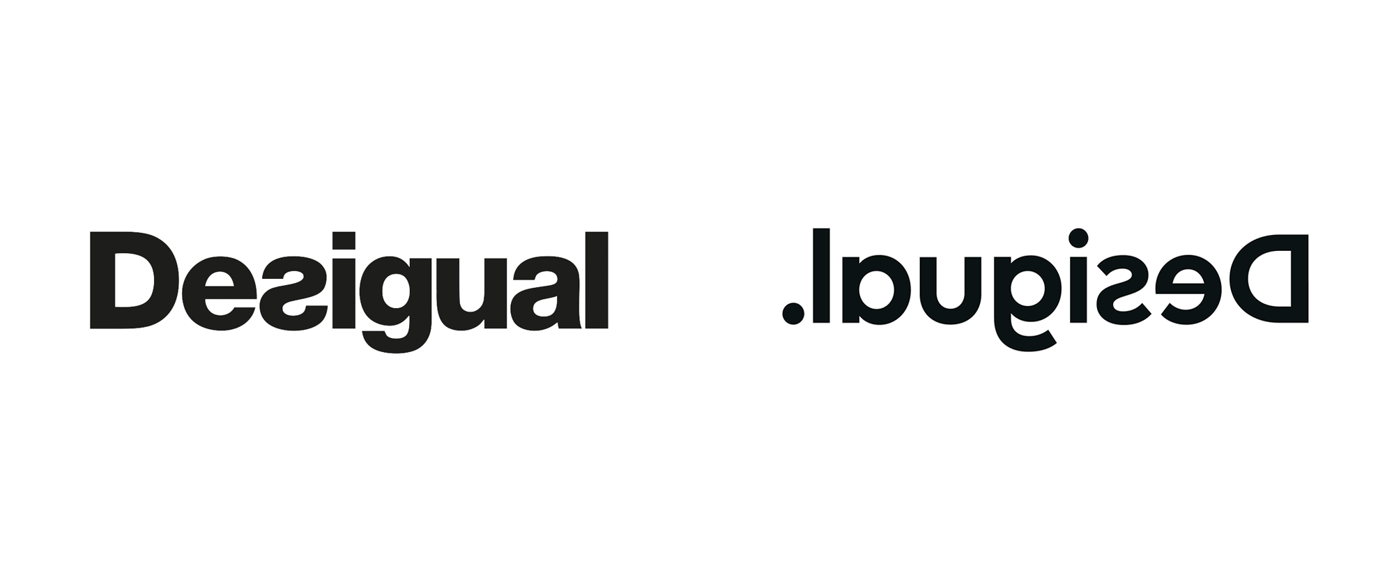 Brand New: New Logo and Identity for Desigual done In.