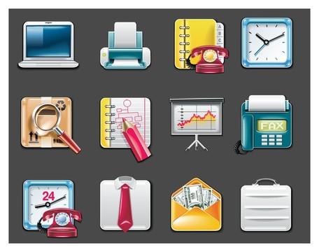 vector office supplies icon, free vector.