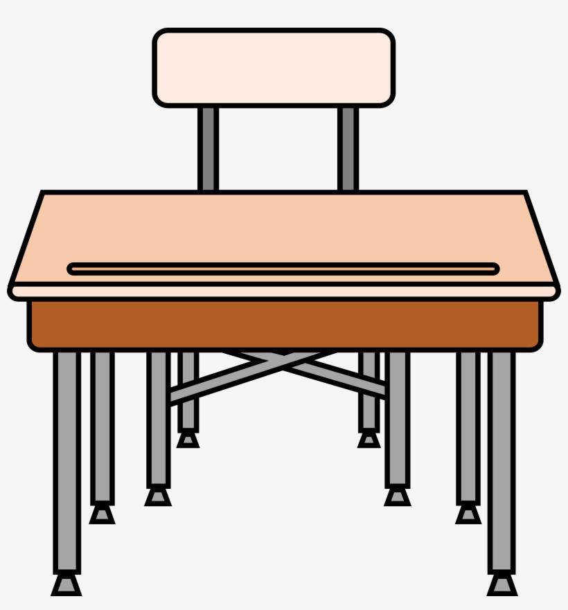 Student Desk Chair Clipart.