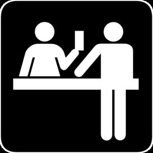 Desk Clerk Clipart