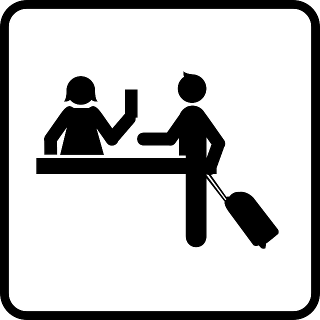 Free vector graphic: Desk Clerk, Reception, Receptionist.