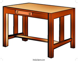 Category: Table Desk Clipart Images.