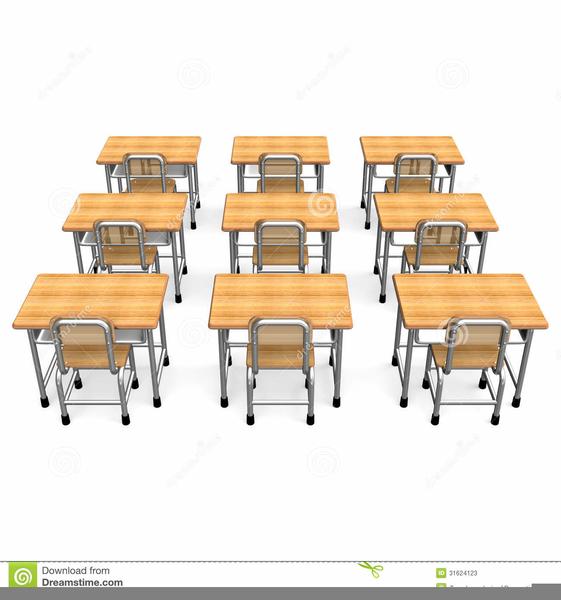 Clipart Of School Desks Free Images At Clker Com Vector Clip Art.