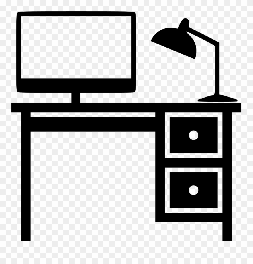 Banner Black And White Desk Svg Png Icon Download Onlinewebfonts.