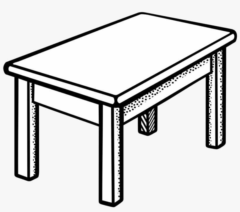 Desk Clipart Side View.