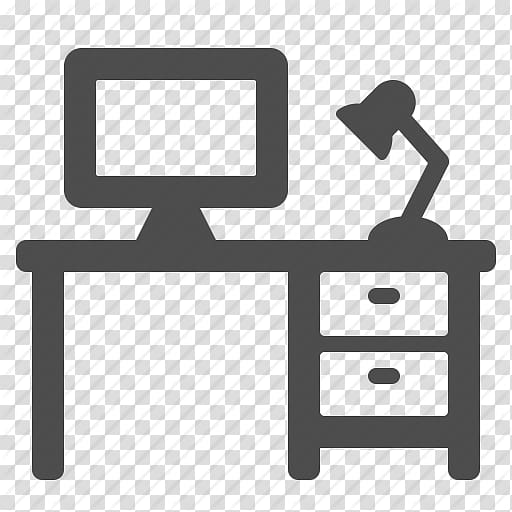 Computer Icons Office Desk Cubicle, Svg Desk Icon.