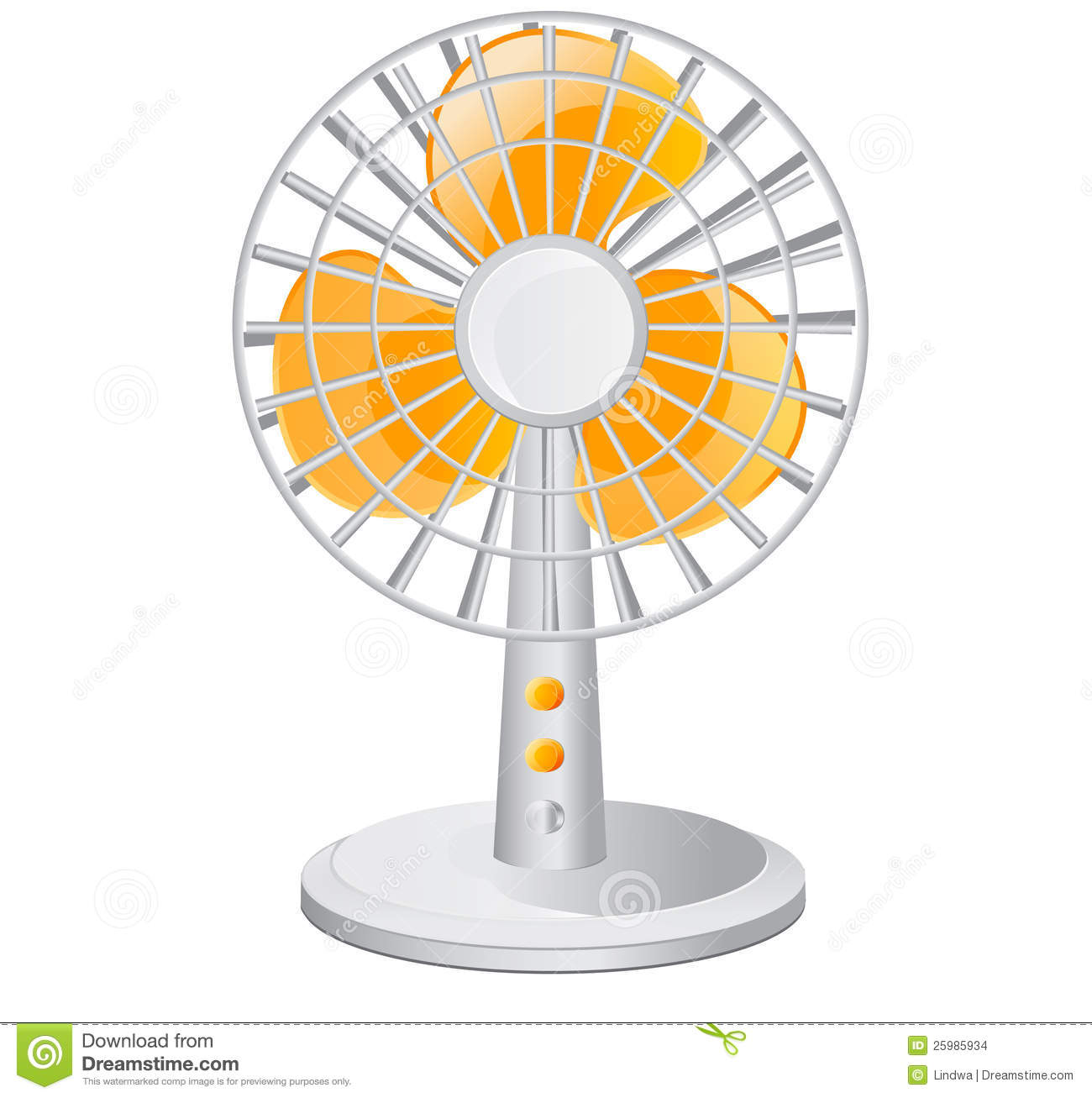Electric Fan Clip Art : Desk fan clipart clipground