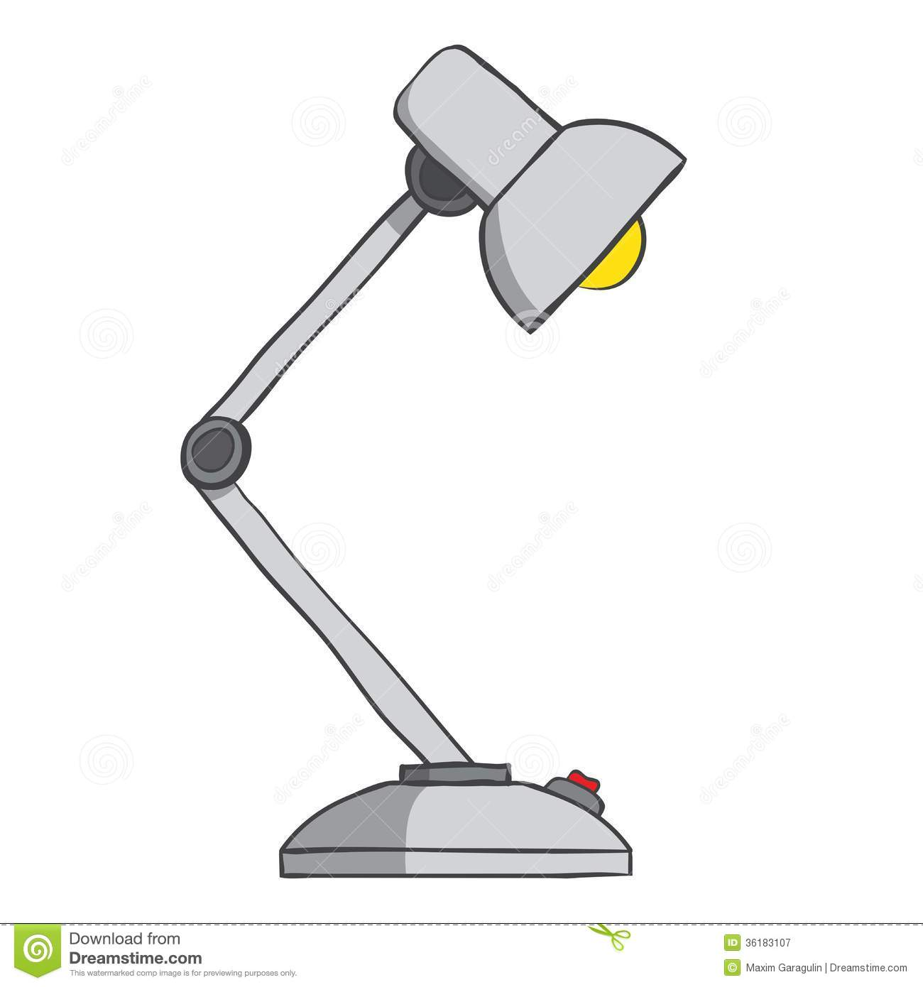 Royalty Free Desk Lamp Clip Art Vector Images: Restaurant Table Lamp Clipart