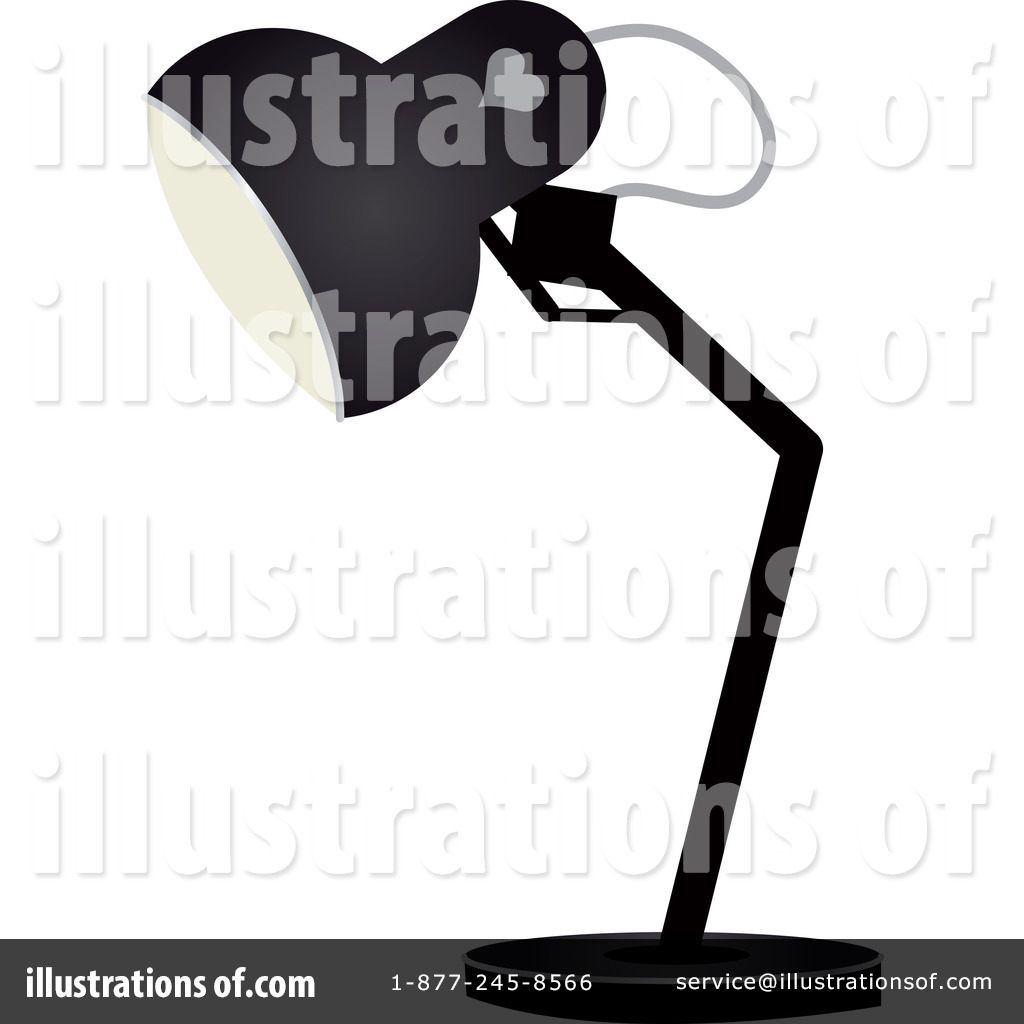 Desk Lamp Clipart #74588.