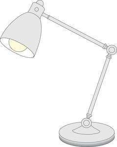Desk lamp clipart #20