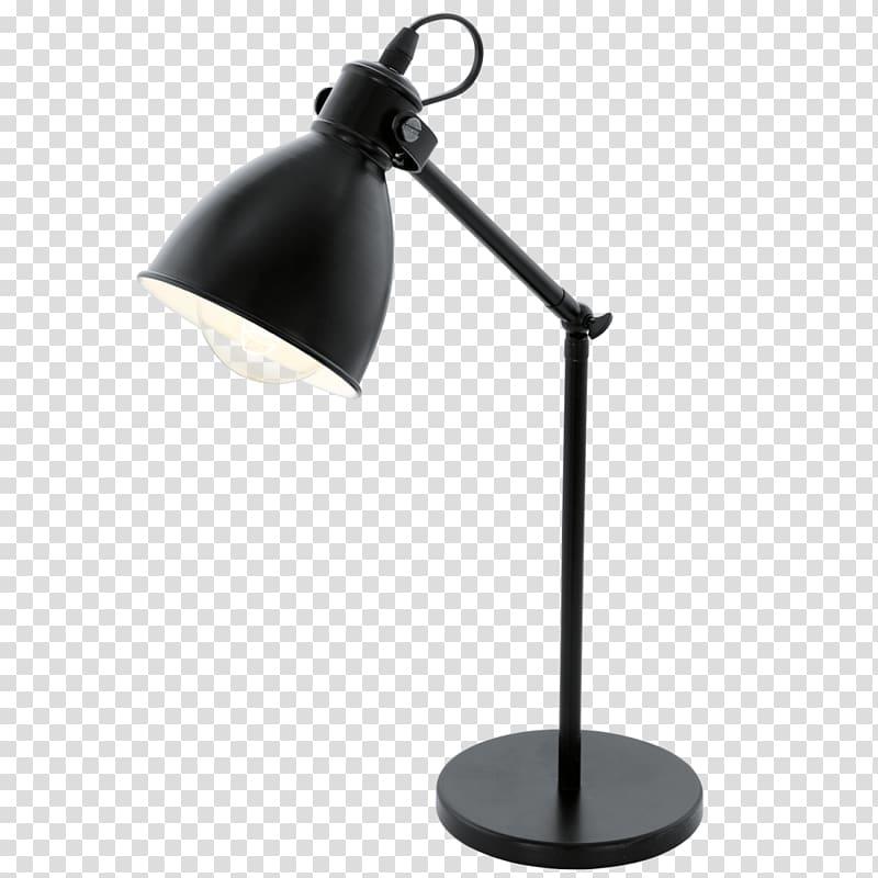 Black desk lamp, Table Lighting Lamp Edison screw, desk lamp.