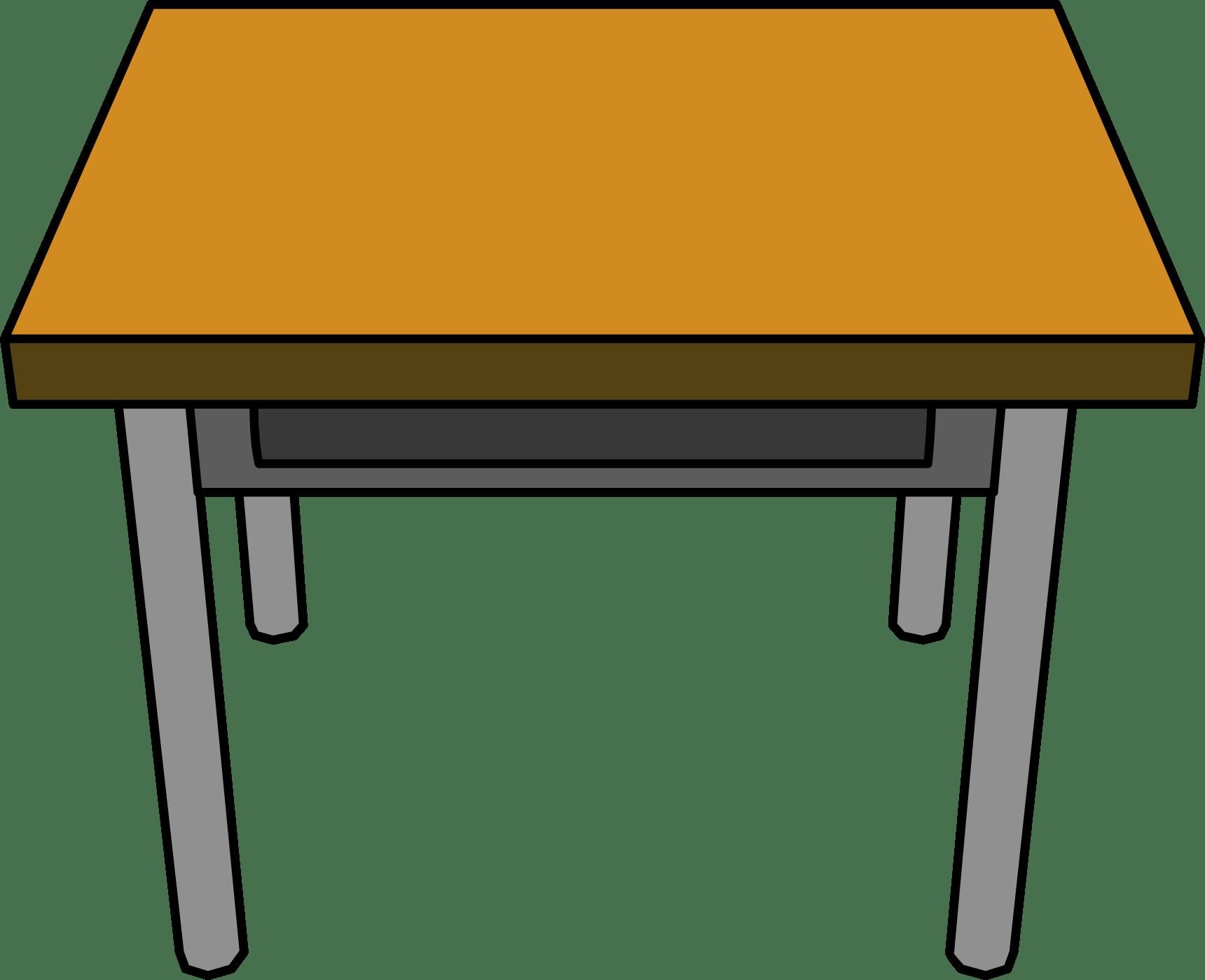Desk Drawing transparent PNG.