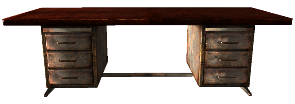 Desk PNG Transparent HD Photo.