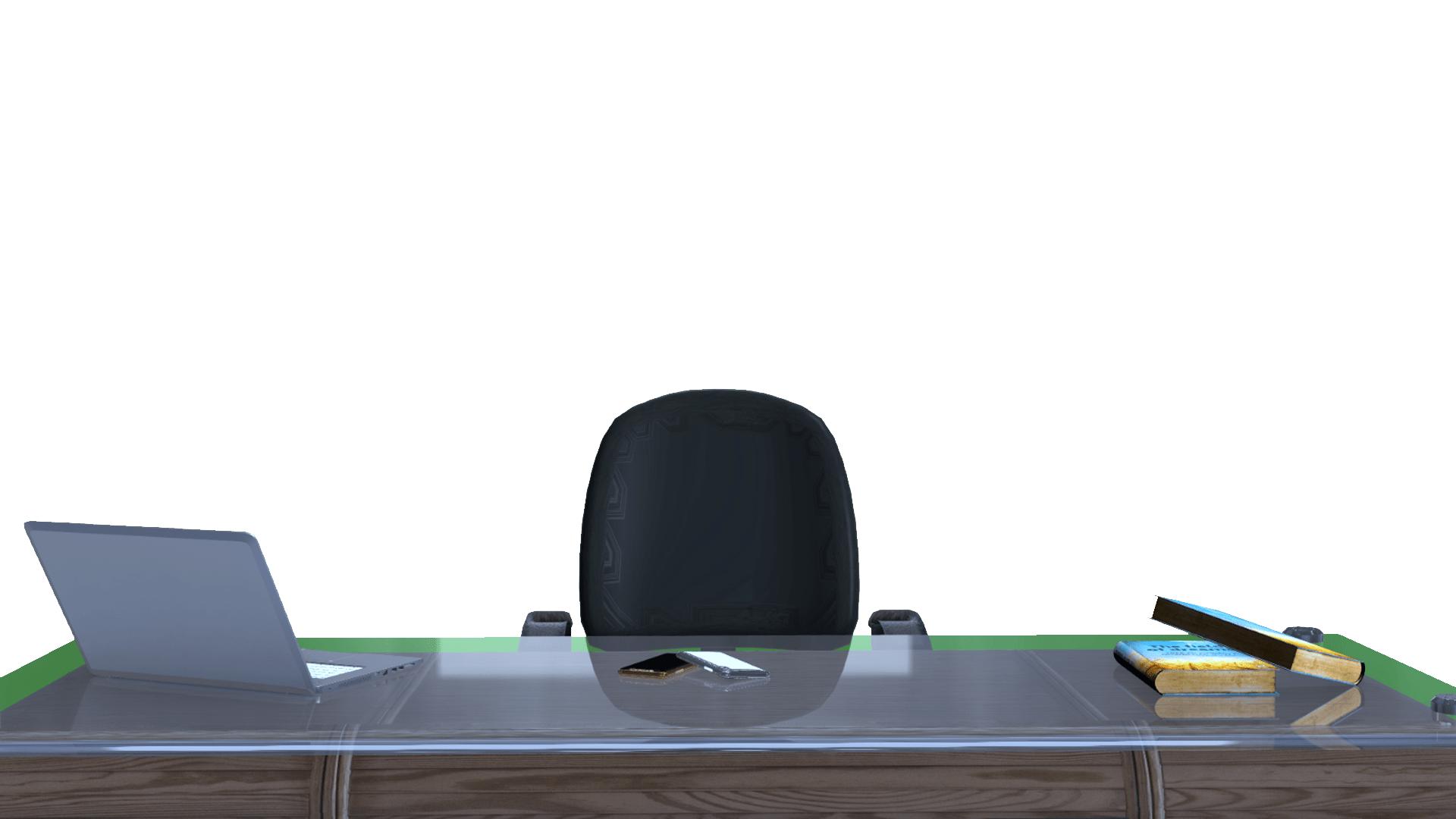 Studio Desk And Chair Download Free PNG.