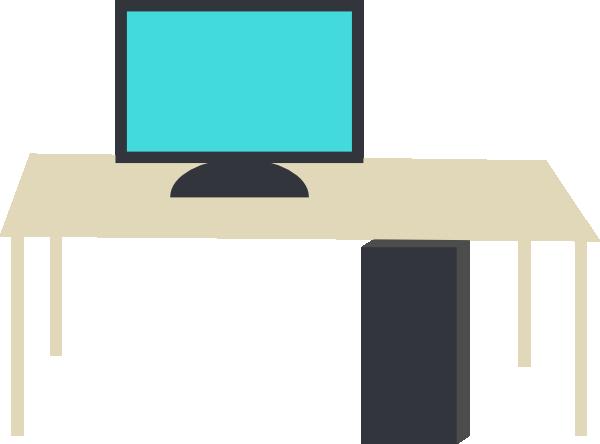 Computer Desk Clip Art at Clker.com.
