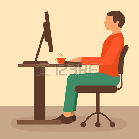 85,039 Office Desk Stock Vector Illustration And Royalty Free.