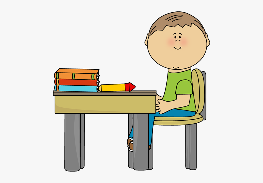 Clipart Of Desk, Work And Move.
