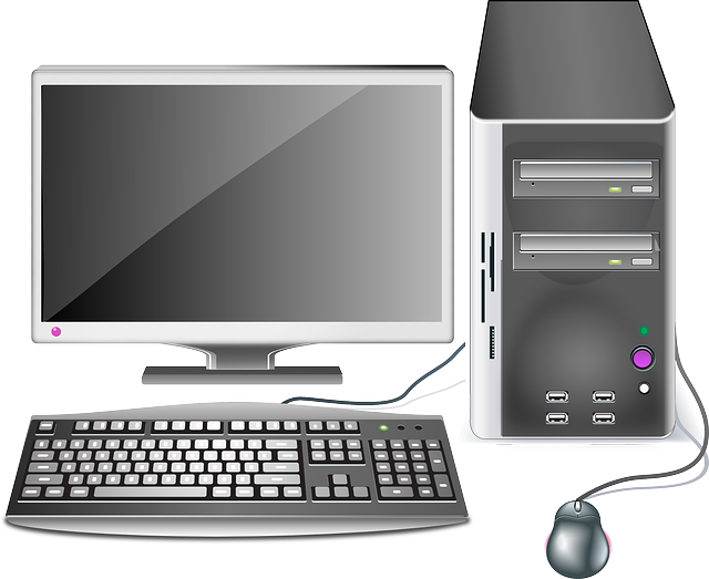 Desktop pc clipart.