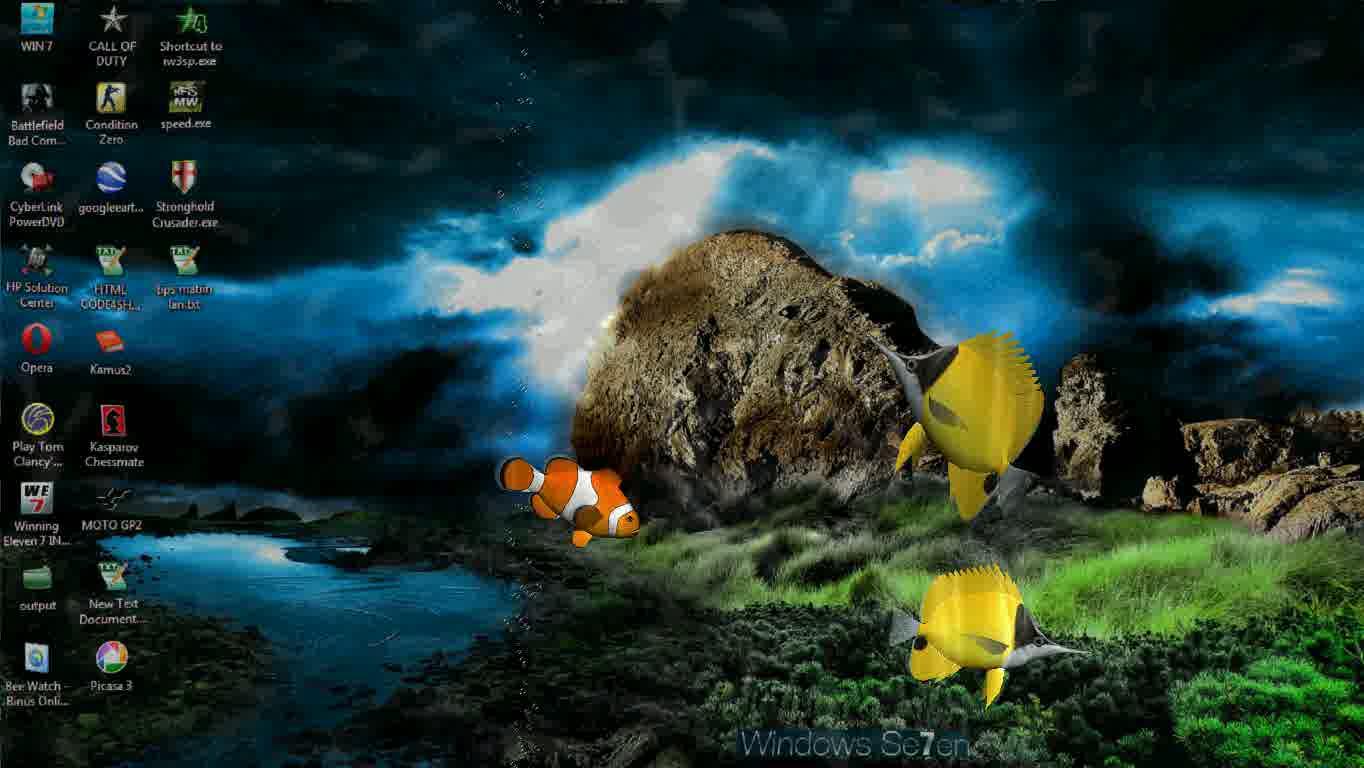 3d Fish Clipart Desktop.