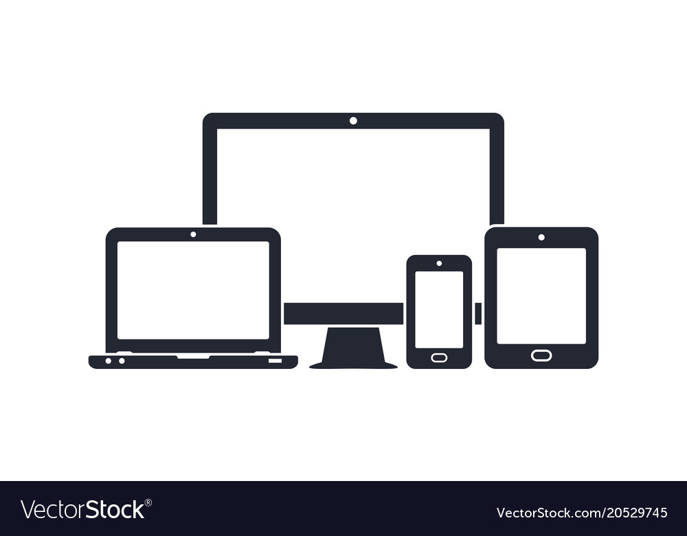 Device icons.