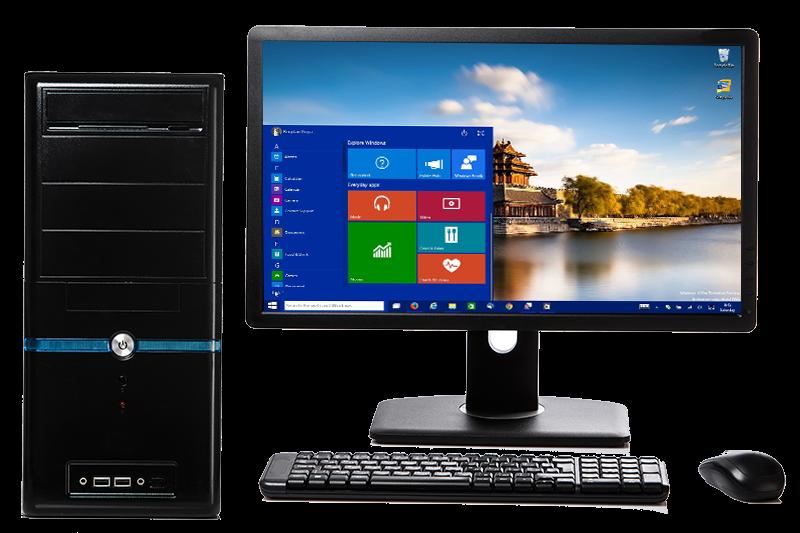 Desktop PC Transparent Free PNG.