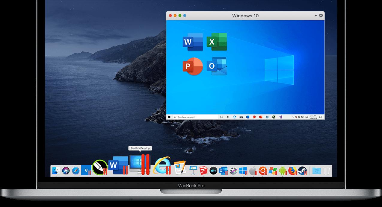 Parallels: Mac & Windows Virtualization, Remote Application Server.