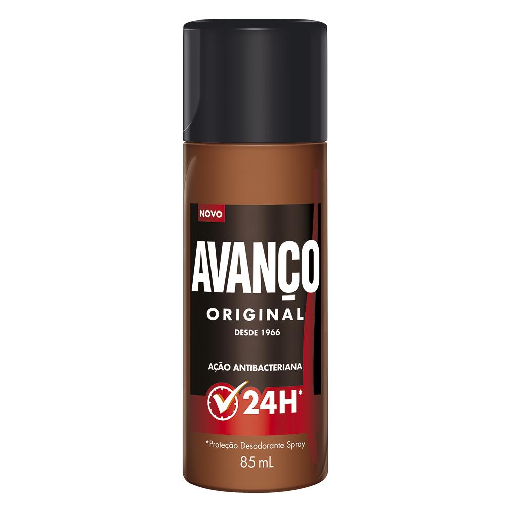 Desodorante Avanço Original Spray Antibacteriano 24h com 85ml.