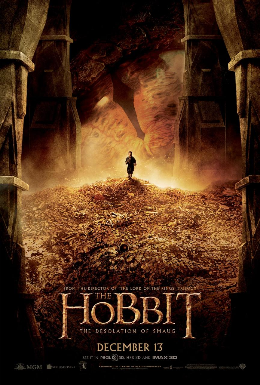 The hobbit desolation of smaug clipart.