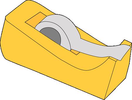 Tape Dispenser Clip Art.