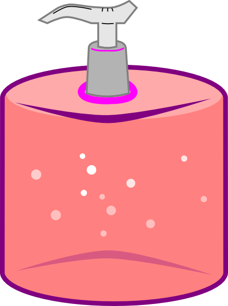 Hand Sanitizer Dispenser Clip Art at Clker.com.