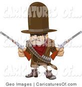 Royalty Free Desperado Stock Caricature Designs.
