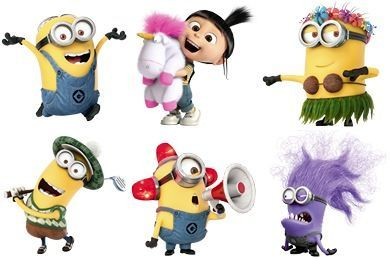Vector Despicable Me Vector Despicable Me Minion Girl Icon.