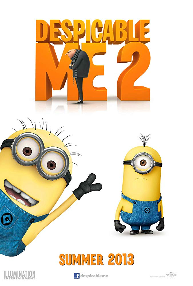 Despicable Me 2: The Music in the Film (2013).
