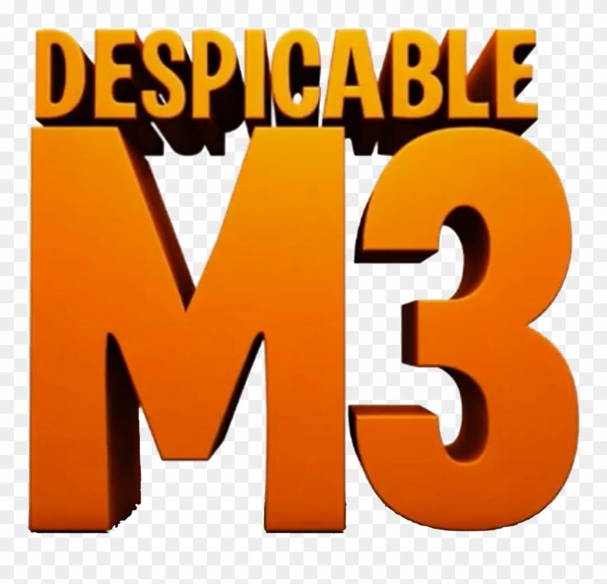 Despicable Me 3 Logo.