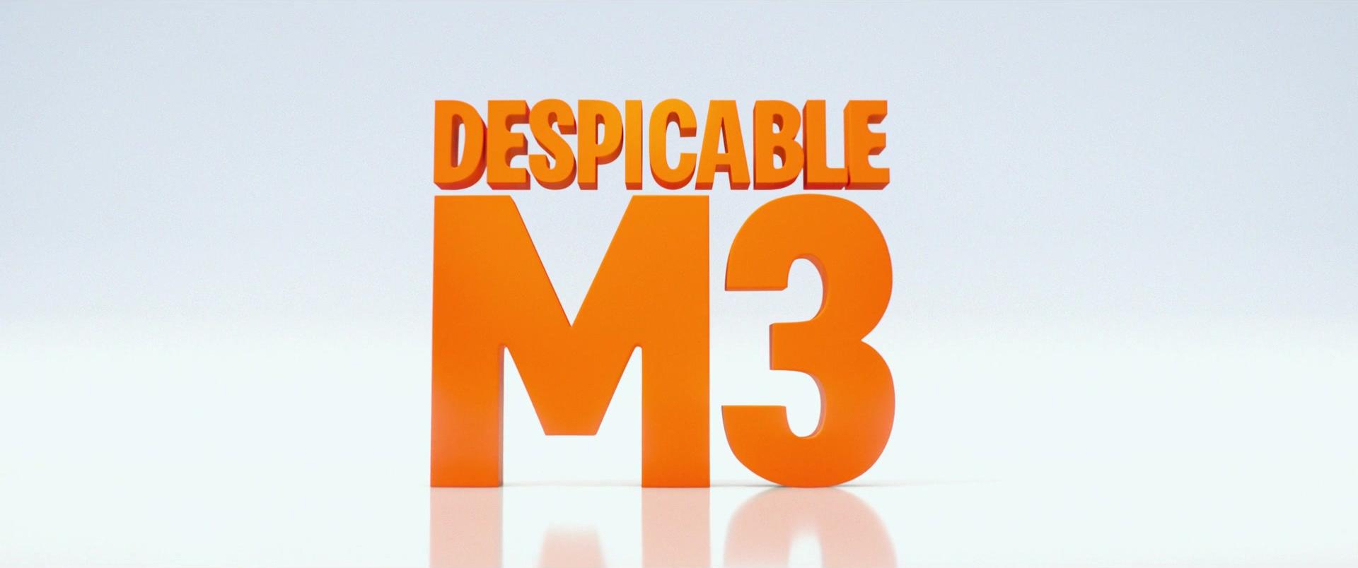 Despicable Me 3.