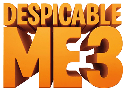 Despicable Me 3 Logo transparent PNG.