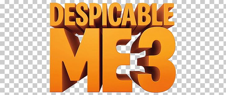 Despicable Me 3 Logo PNG, Clipart, At The Movies, Cartoons.
