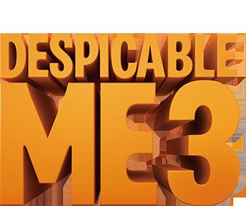 Despicable Me 3 Movie Logo.