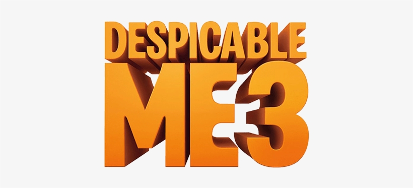 Despicable Me 3 Logo.