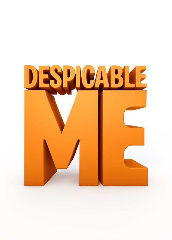 Despicable me Logos.