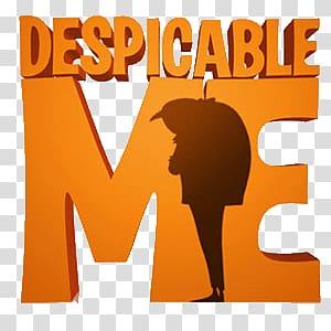 Despicable Me logo, Despicable Me Silhouette Logo.