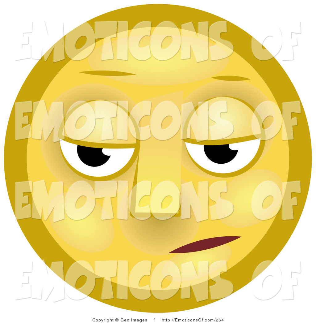 Royalty Free Despondent Stock Emoticon Designs.